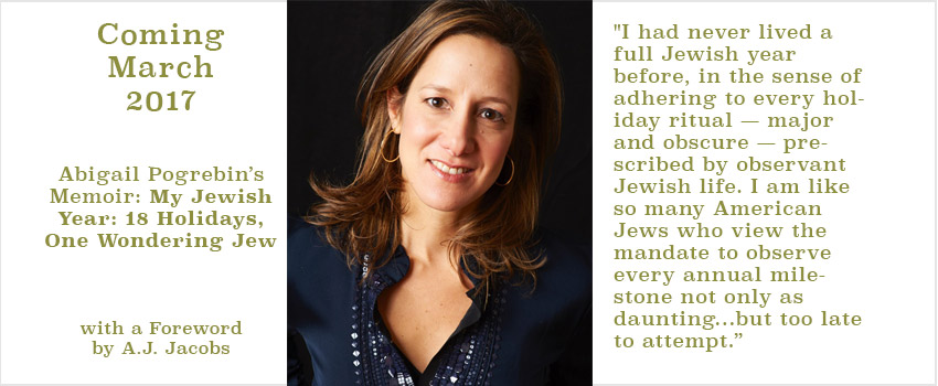 My Jewish Year - Abigal Pogrebin